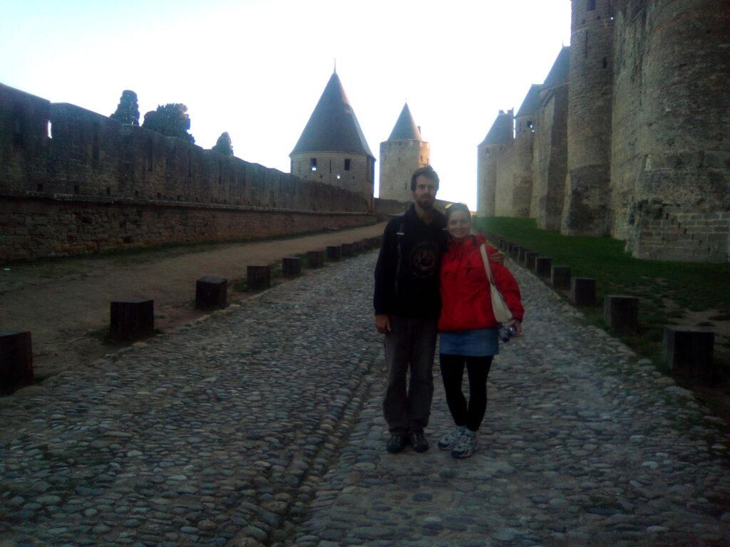 Na hradě Carcasonne v jižní Francii (2016)