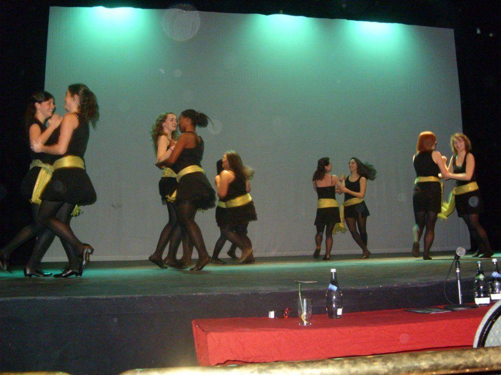 tančení irských tanců na show v Irsku